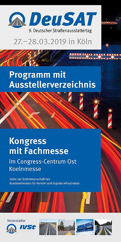 Programm mit Ausstellerverzeichnis - DeuSAT 2019